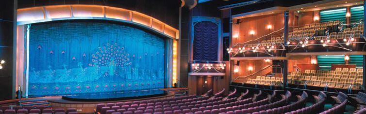Théâtre du bateau de croisière Allure of the Seas