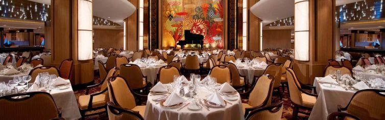 Restaurant du bateau de croisière Harmony of the Seas