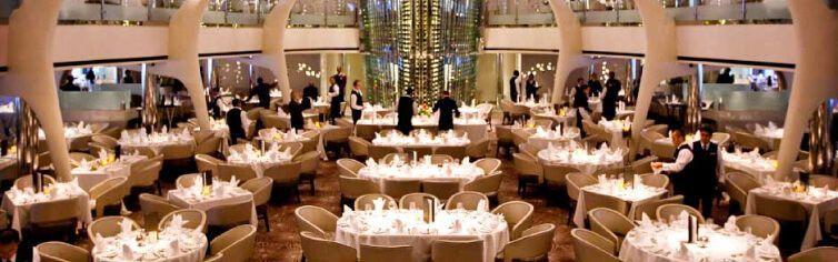 Restaurant du bateau de croisière Celebrity Solstice