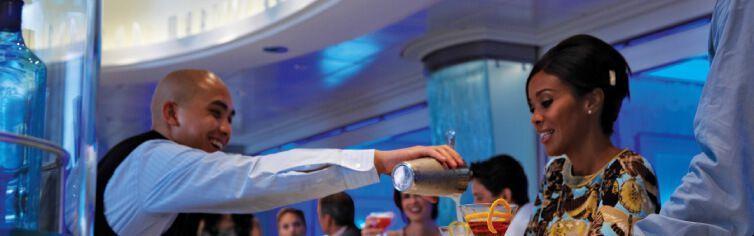 Le Martini Bar du bateau de croisière Celebrity Equinox