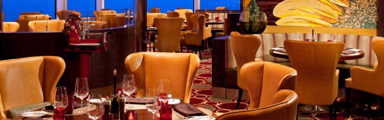 Restaurant du bateau de croisière Celebrity Eclipse