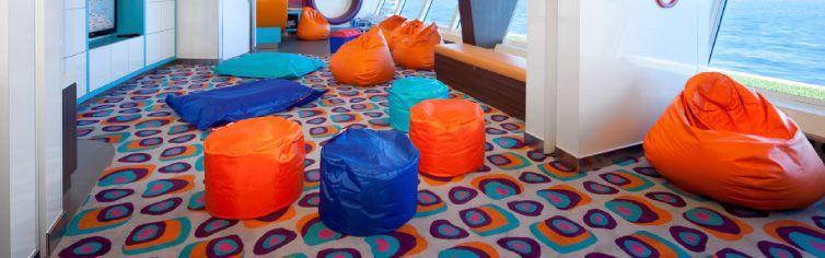 Club enfants du bateau de croisière Celebrity Infinity