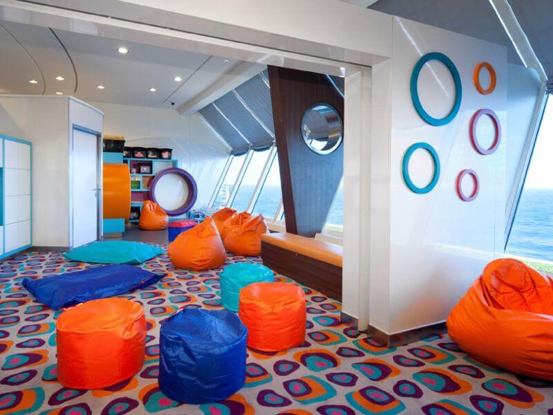 Kids club du bateau de croisière Celebrity Summit