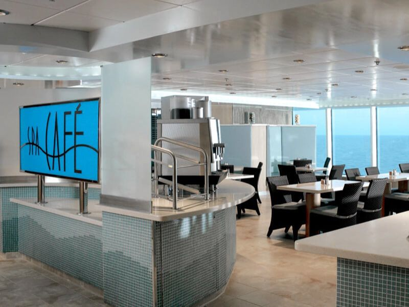 Spa Café du bateau de croisière Celebrity Summit