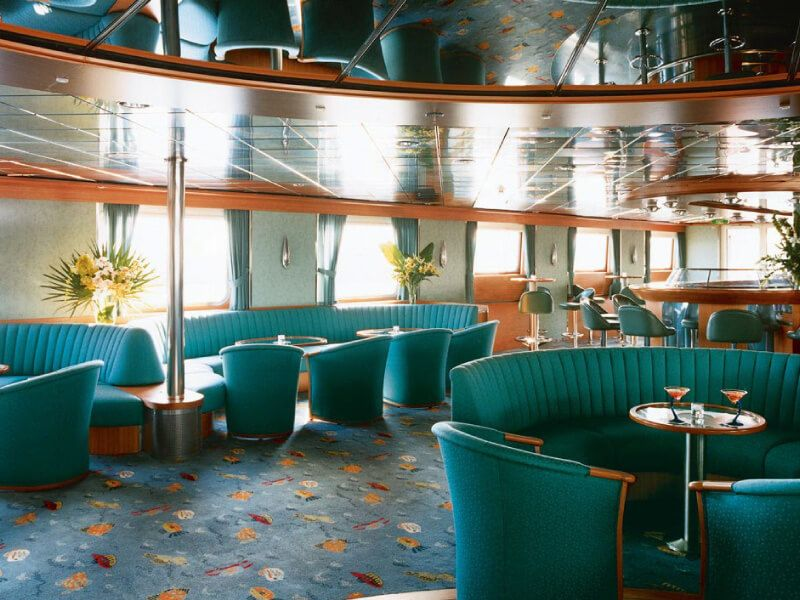 Discovery Lounge du bateau de croisière Celebrity Xpedition