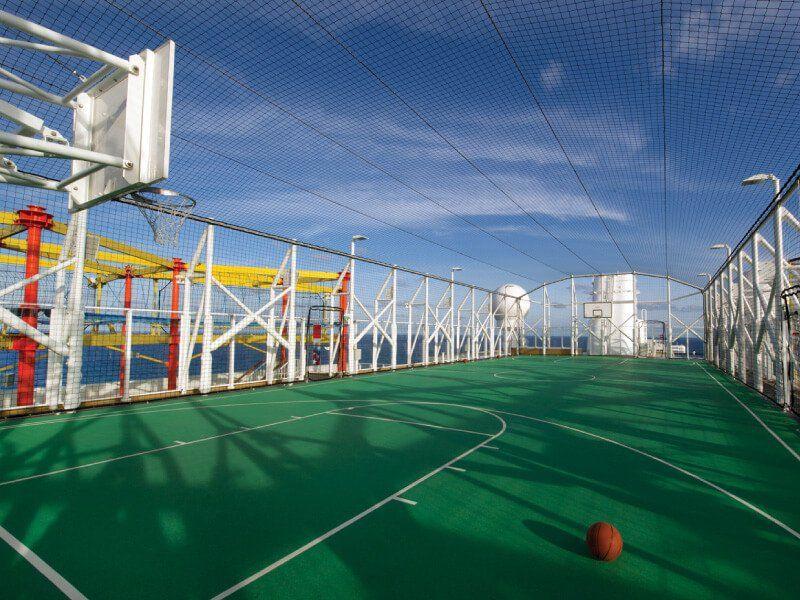 Terrain de Basketball du bateau de croisière Norwegian Breakaway