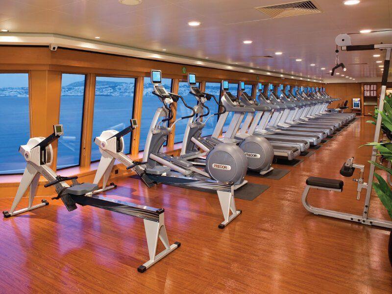 Fitness club du bateau de croisière Norwegian Gem