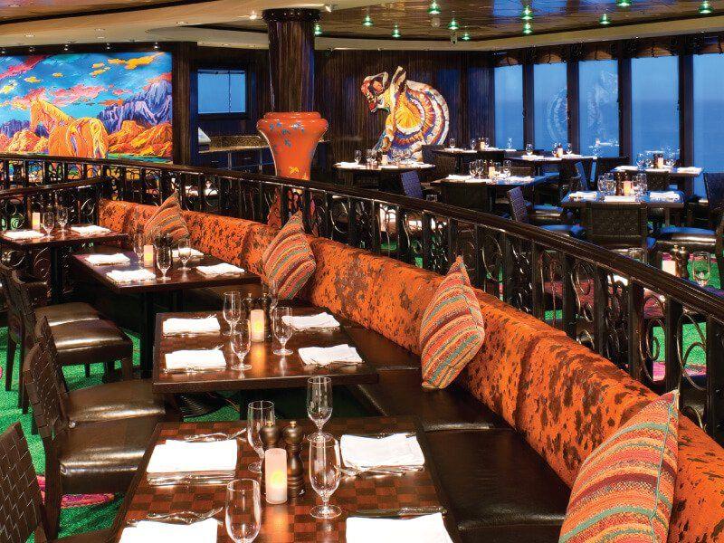 Tapas Restaurant du bateau de croisière Norwegian Gem