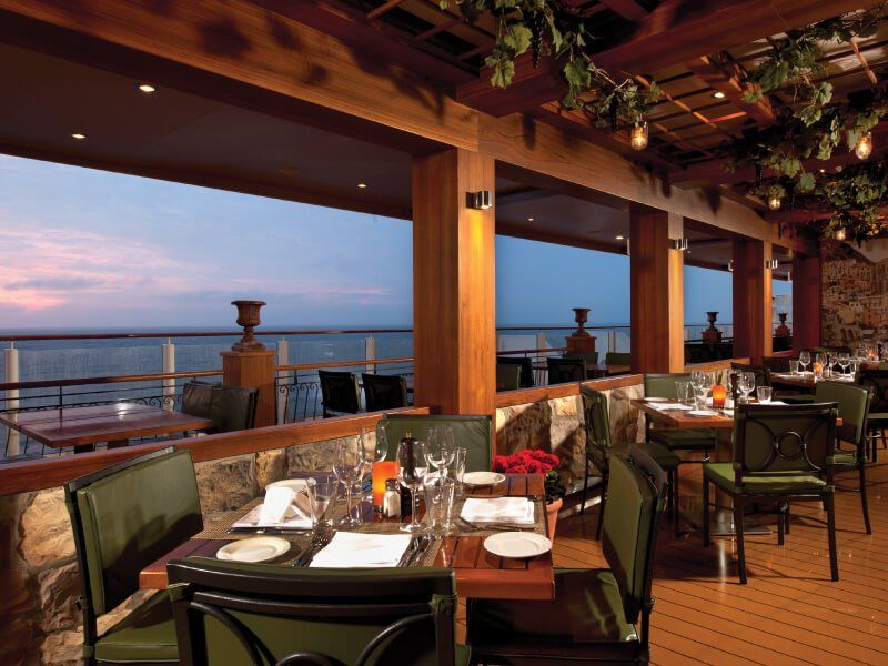 La Cucina (vue mer) du bateau de croisière Norwegian Getaway