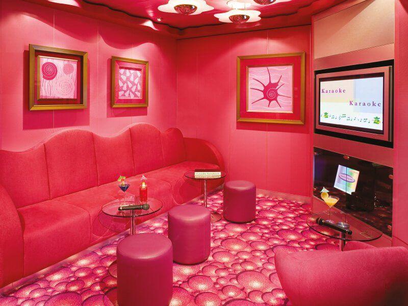Karaoké Lounge du bateau de croisière Norwegian Jade