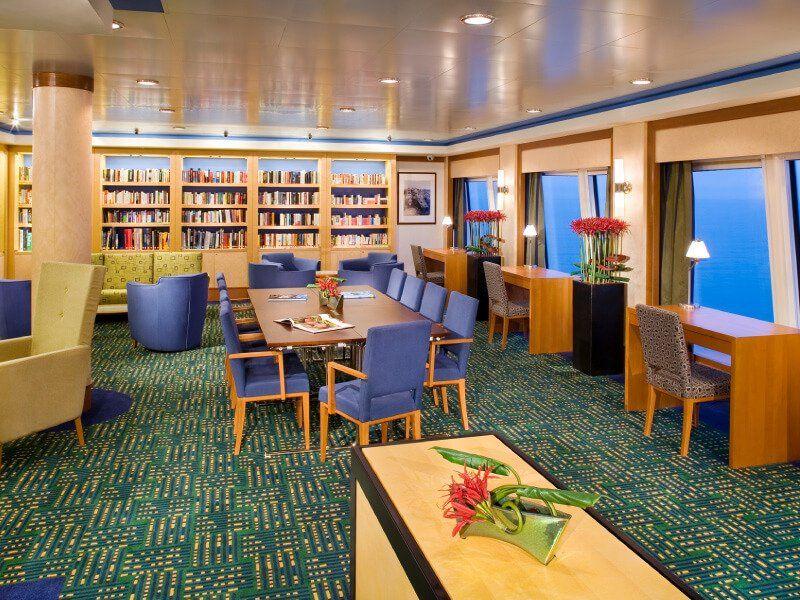 Librairie du bateau de croisière Norwegian Jade