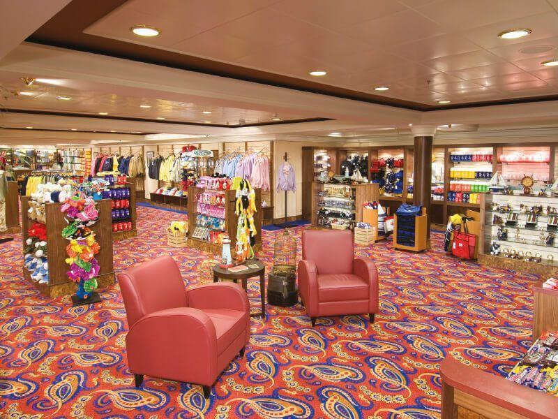 Boutique du bateau de croisière Norwegian Jewel