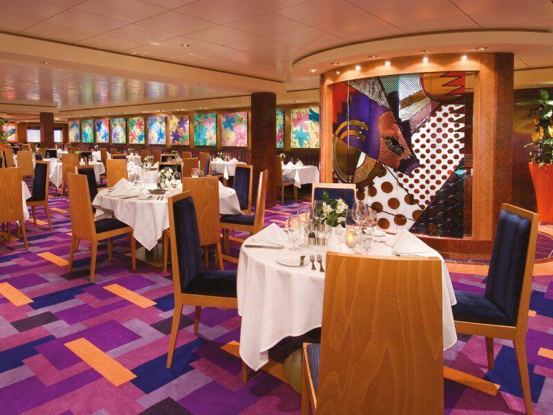 Restaurant Principal du bateau de croisière Norwegian Jewel