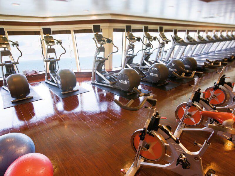 Club Fitness du bateau de croisière Norwegian Pearl