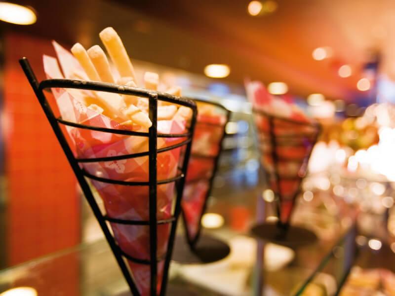 Dégustez les frites à bord du bateau de croisière Norwegian Pearl