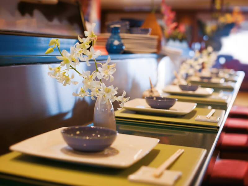 Sushi Bar du bateau de croisière Norwegian Pearl