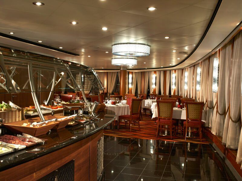 Restaurant Moderno du bateau de croisière Norwegian Star