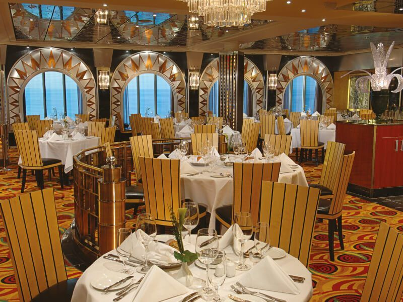 Restaurant principal du bateau de croisière Pride of America