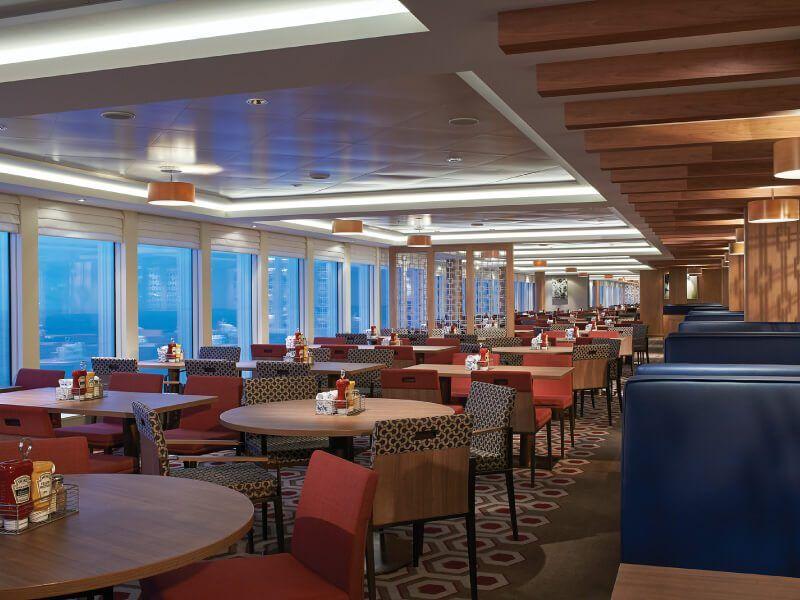 Garden Café du bateau de croisière Norwegian Escape