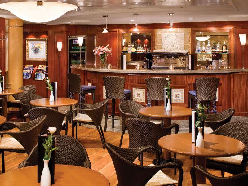 Café Corner du bateau de croisière Seven Seas Mariner