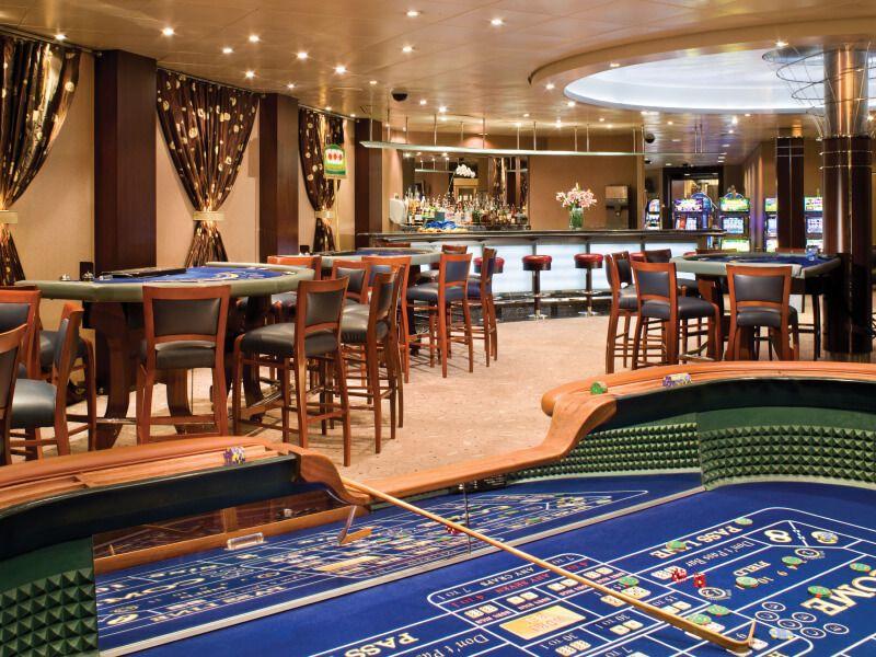 Casino du bateau de croisière Seven Seas Mariner