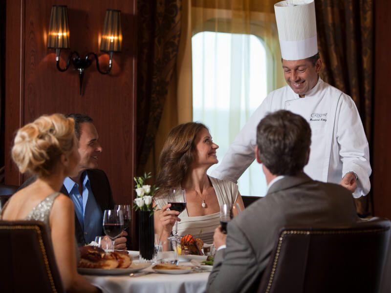 Restaurant Prime du bateau de croisière Seven Seas Mariner