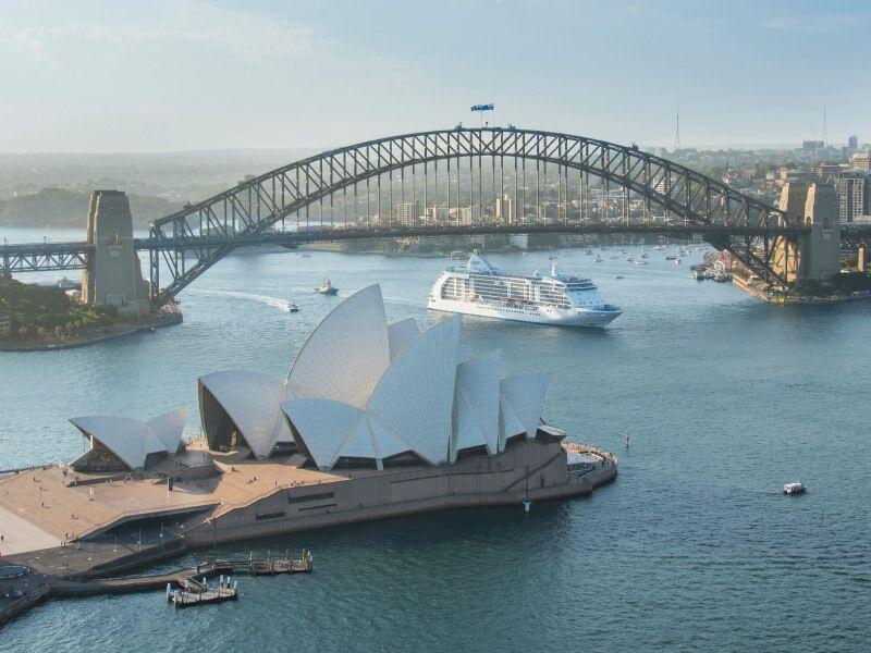 LeS even Seas Voyager en escale à Sydney