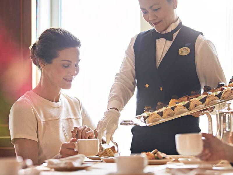 Café International du bateau de croisière Caribbean Princess