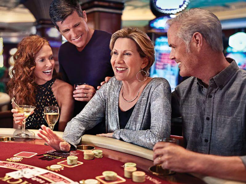 Casino bar du bateau de croisière Grand Princess