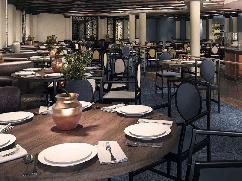 Restaurant Sabatini's du bateau de croisière Grand Princess