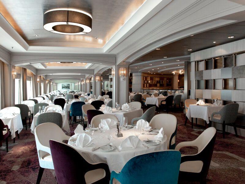 Restaurant du bateau de croisière Crystal Serenity