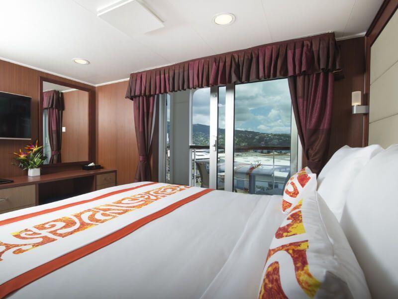 La Suite Présidentielle du bateau de croisière Aranui 5