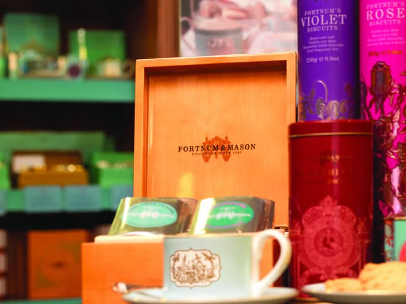 Salon de thé du bateau de croisière Queen Elizabeth