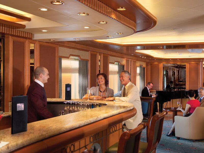 Bar 2 du bateau de croisière Queen Victoria
