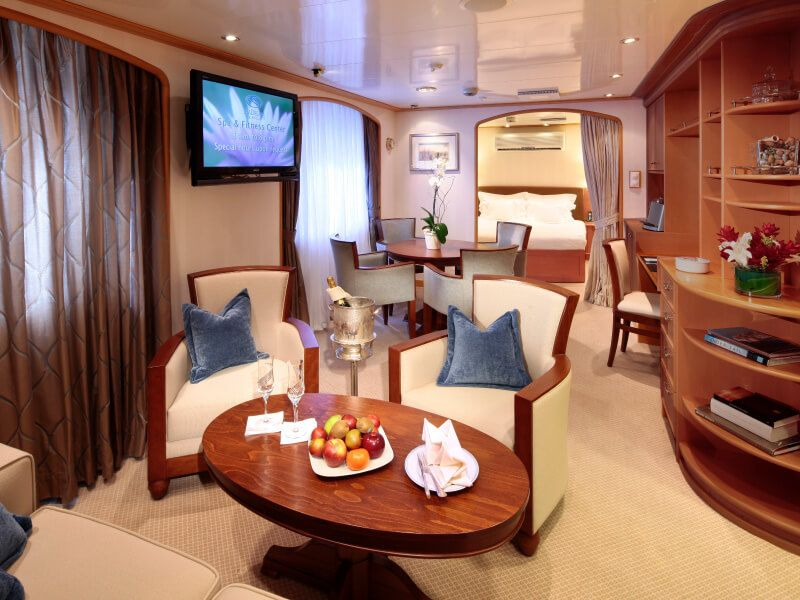 Admiral Suite du bateau de croisière SeaDream II