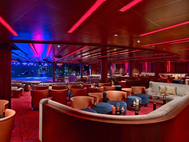 Grand Salon du bateau de croisière Seabourn Encore