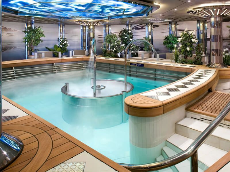 HYDRO POOL du bateau de croisière MS Eurodam