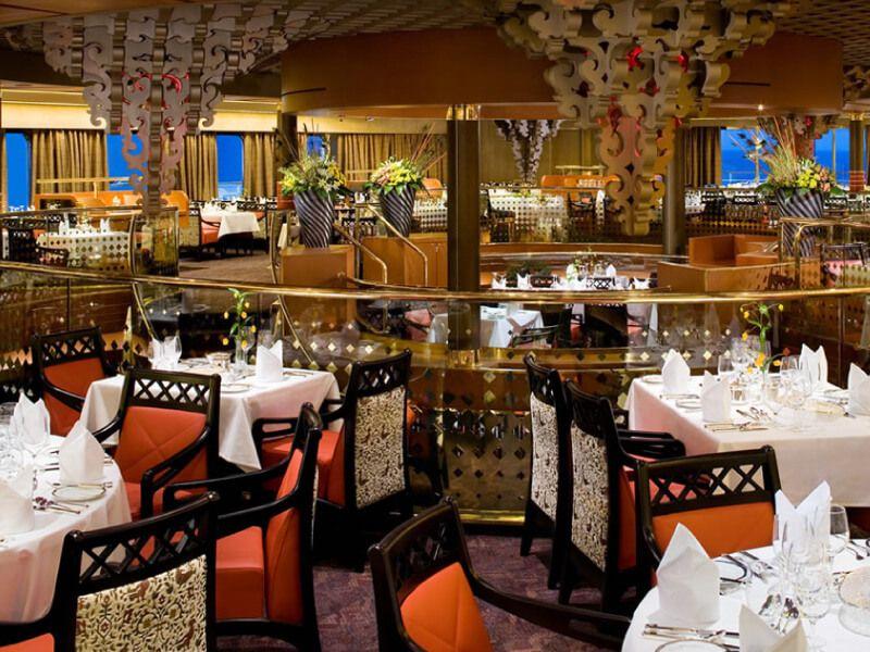 Restaurant REMBRANDT du bateau de croisière MS Eurodam