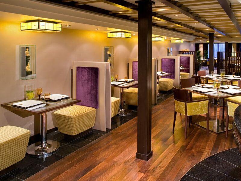 Restaurant TARAMIND du bateau de croisière MS Eurodam