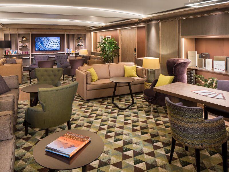 Lounge Neptune du bateau de croisière MS Koningsdam