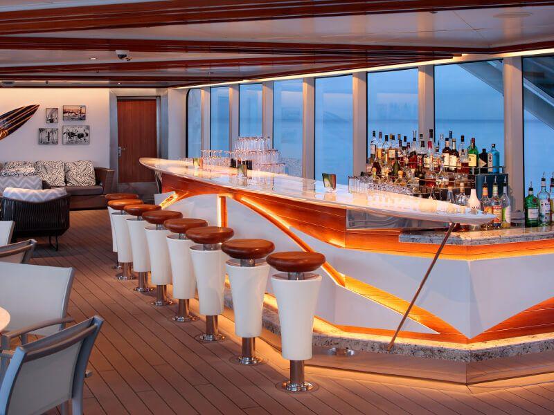 Le SEA VIEW BAR du bateau de croisière MS Koningsdam