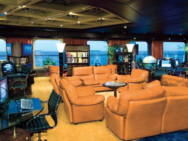 Zone internet du bateau de croisière MS Noordam