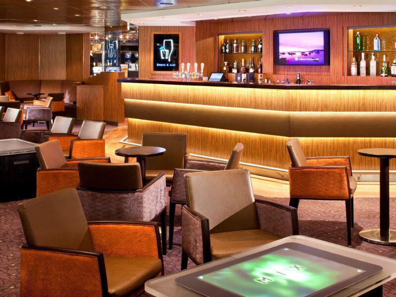 Mix Bar du bateau de croisière MS Volendam