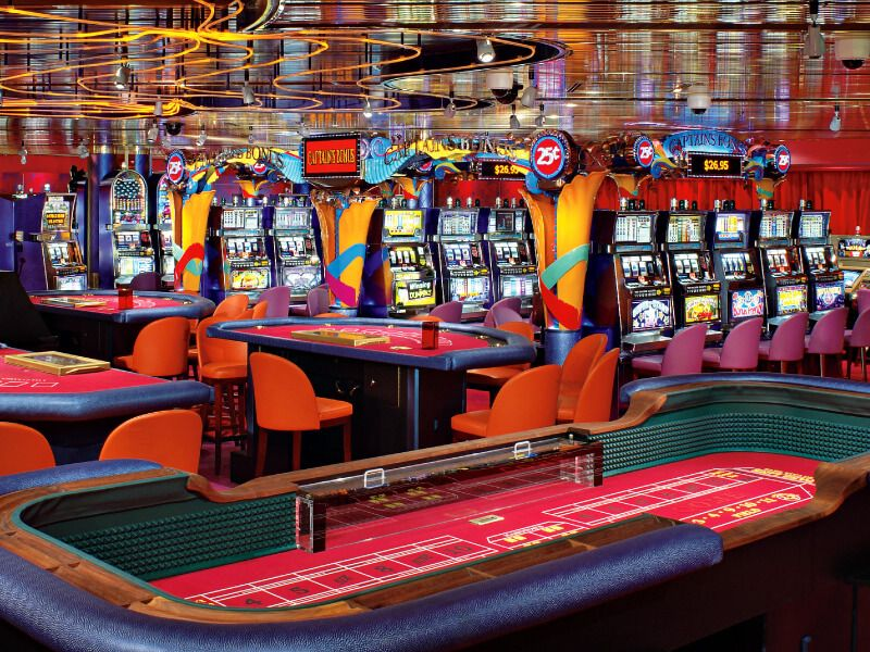 Casino du bateau de croisière MS Westerdam