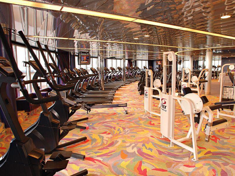 Salle de Fitness du bateau de croisière MS Westerdam