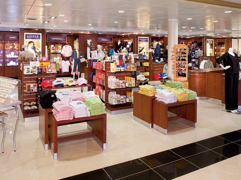 Boutique du bateau de croisière MS Zuiderdam