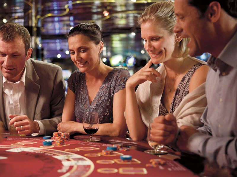 Casino du bateau de croisière MS Zuiderdam