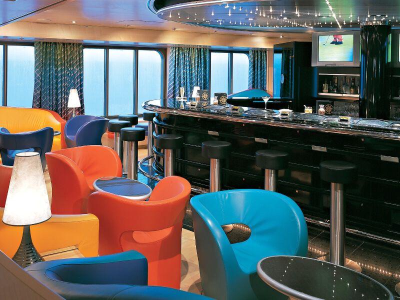 Lounge du bateau de croisière MS Zuiderdam