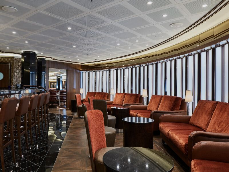 Bar Atlantide du bateau de croisière Silver Muse