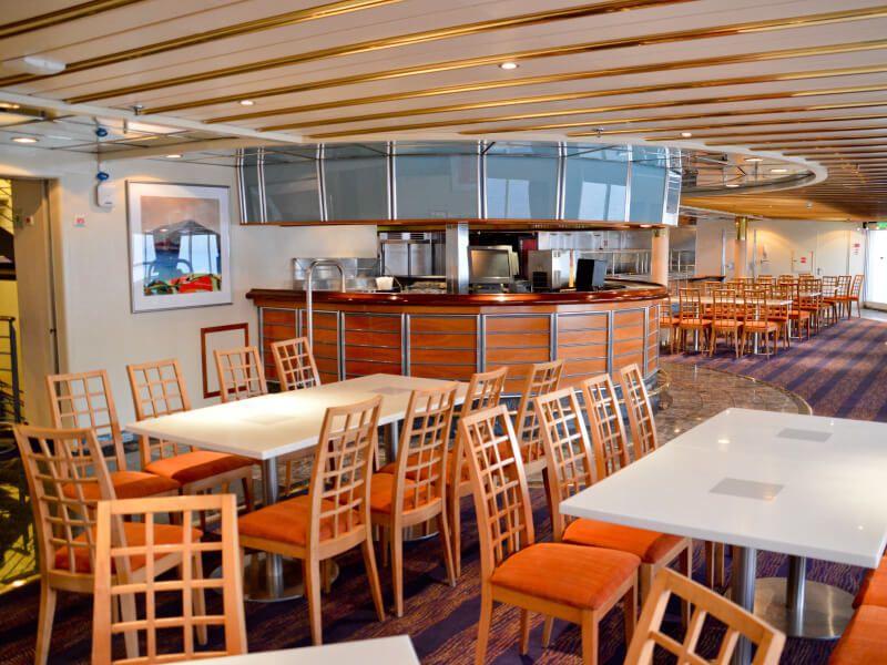 Buffets LEDA & Aura du bateau de croisière Celestyal Crystal